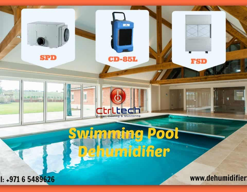 dehumidifier for swimming pool in UAE, Oman, Qatar and Saudi Arabia