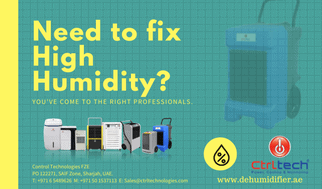 Need to fix high humidity with Dehumidifier