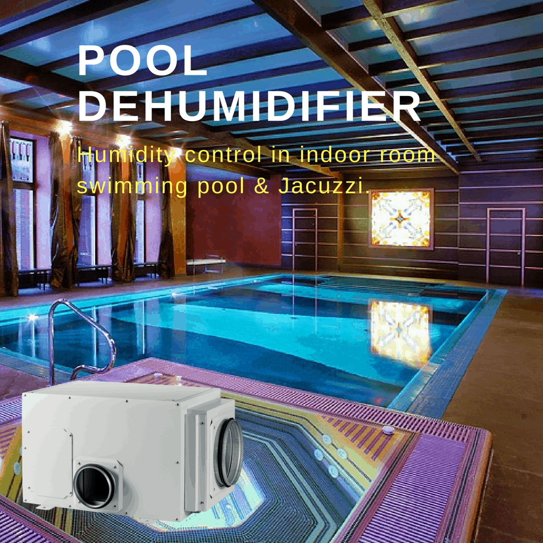 Swimming pool dehumidifier by CtrlTech