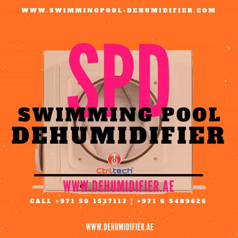 Dehumidifier for swimming pool design