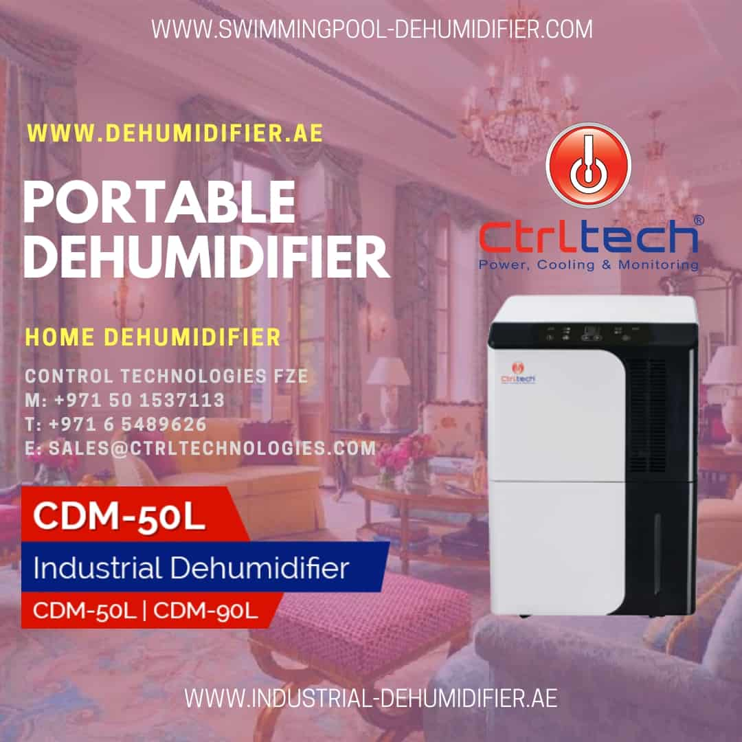 Portable home dehumidifier in Dubai, UAE