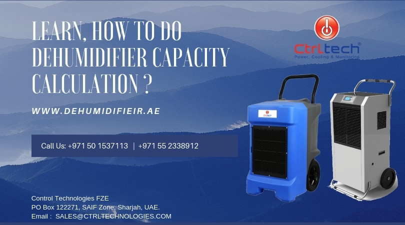 Learn, How to do dehumidifier capacity calculation _