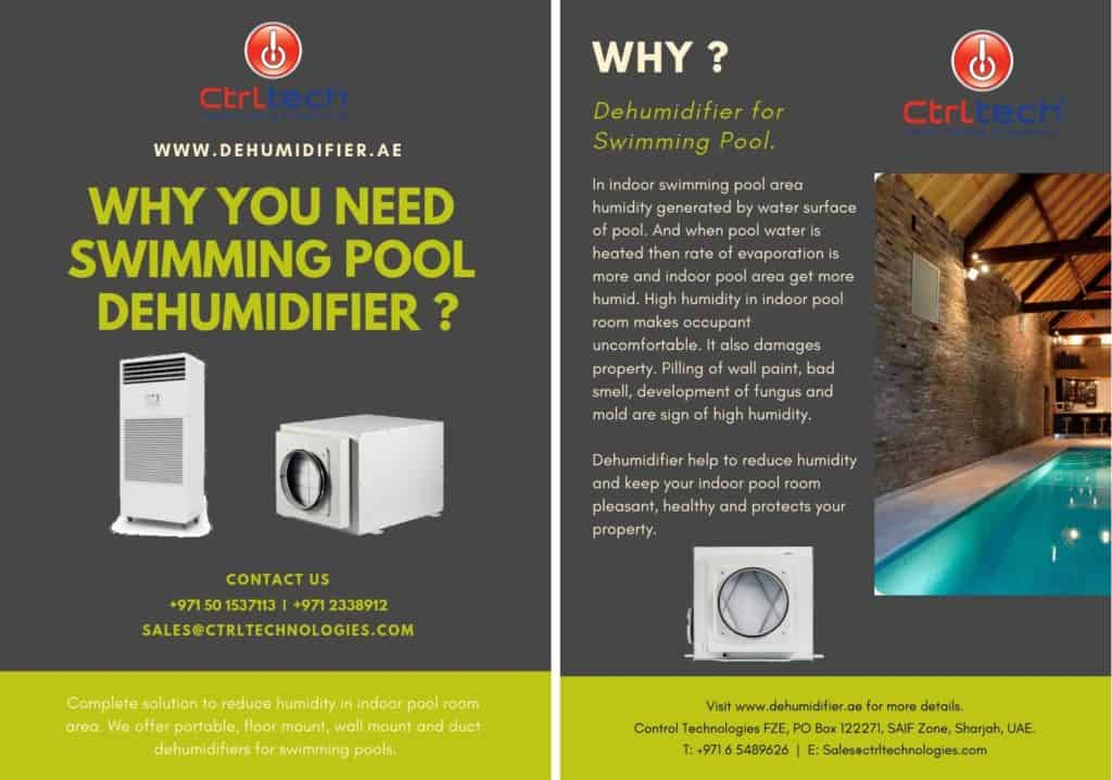 Why you need dehumidifier for swimming pool?